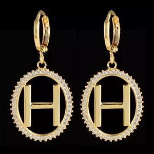 Luxury H Letter Fashion Jewelry Earrings Famous